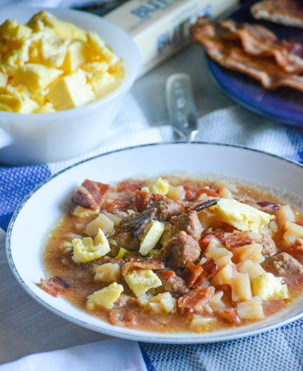 Slow Cooker Breakfast Soup 4 Sons R Us
