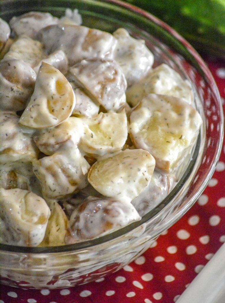 Tzatziki Style Potato Salad