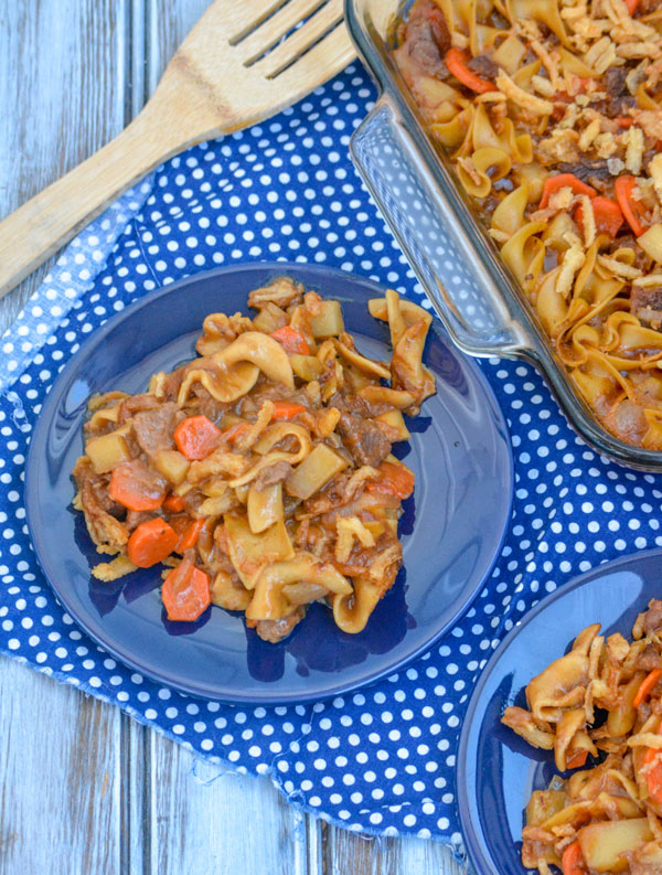 Beef Noodle Stew Casserole