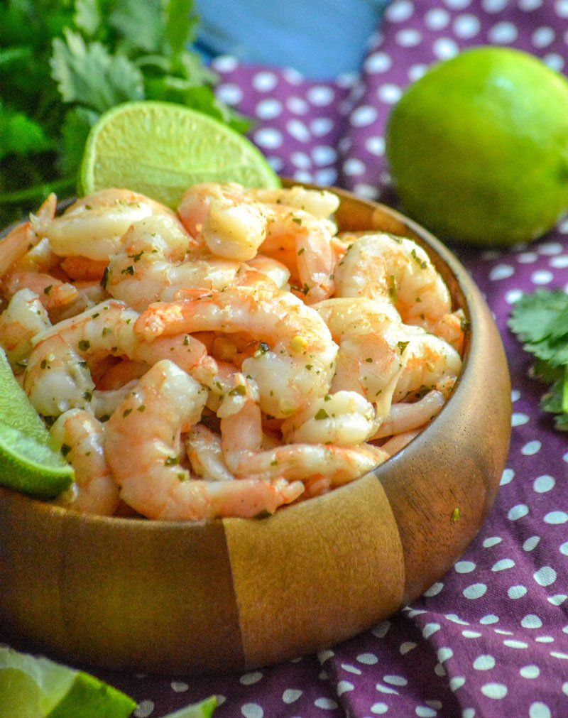 Copy Cat Costco Cilantro Lime Shrimp