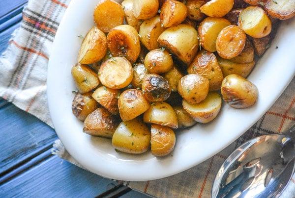 Crisp Salt & Vinegar Potatoes