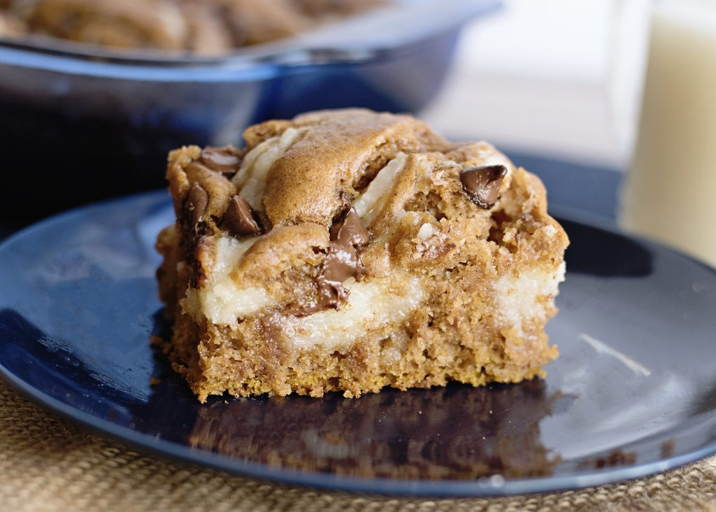 Pumpkin Spice Earthquake Cake