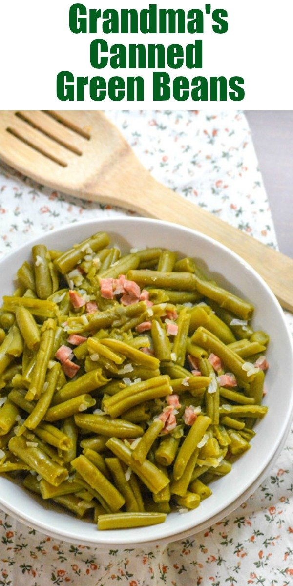 Green beans don't have to be freshly snapped to be chock full of flavor, or appropriate for Holiday dinners. Grandma's Canned Green Beans are so good, I'm proud to serve them at my table any dinner of the year. It helps that they're also secretly easy enough for even busy weeknights too!