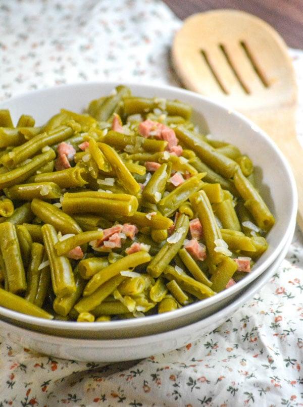 Grandma's Canned Green Beans