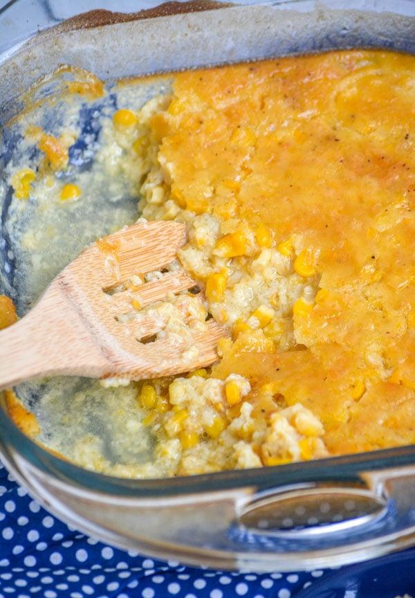 Grandma's Southern Creamed Corn Pudding