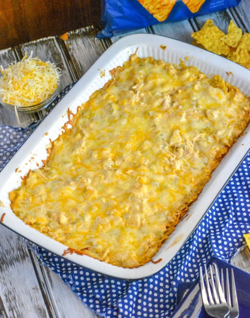 Cool Ranch Doritos Cheesy Chicken Casserole