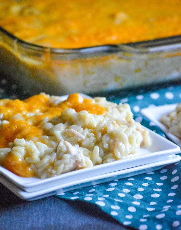 Chicken Rice Pilaf Casserole