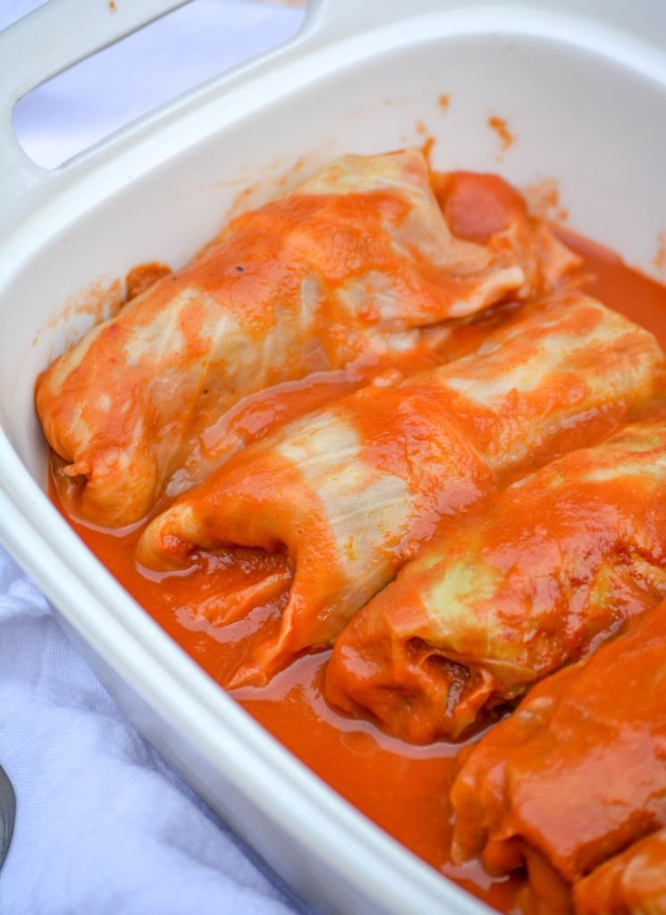 Halupki Stuffed Cabbage Rolls