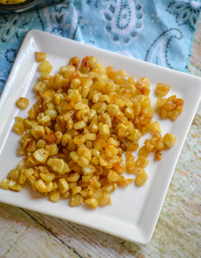 Southern Fried Skillet Corn