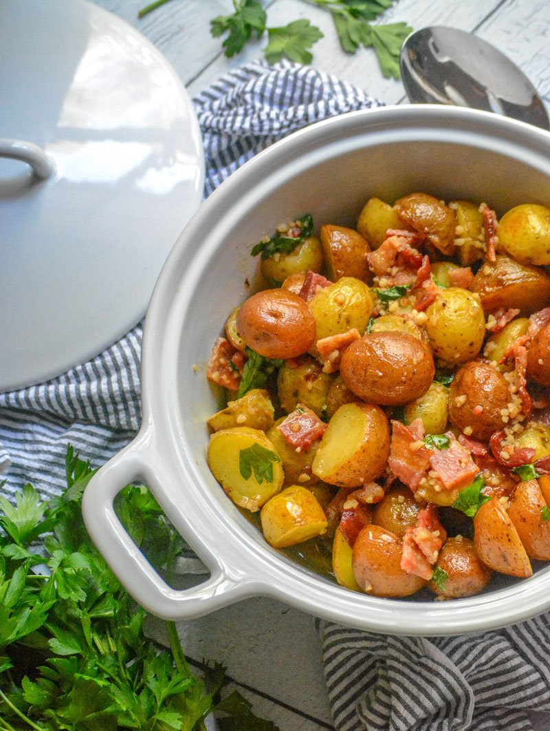 Potato Salad With Honey Mustard Dressing