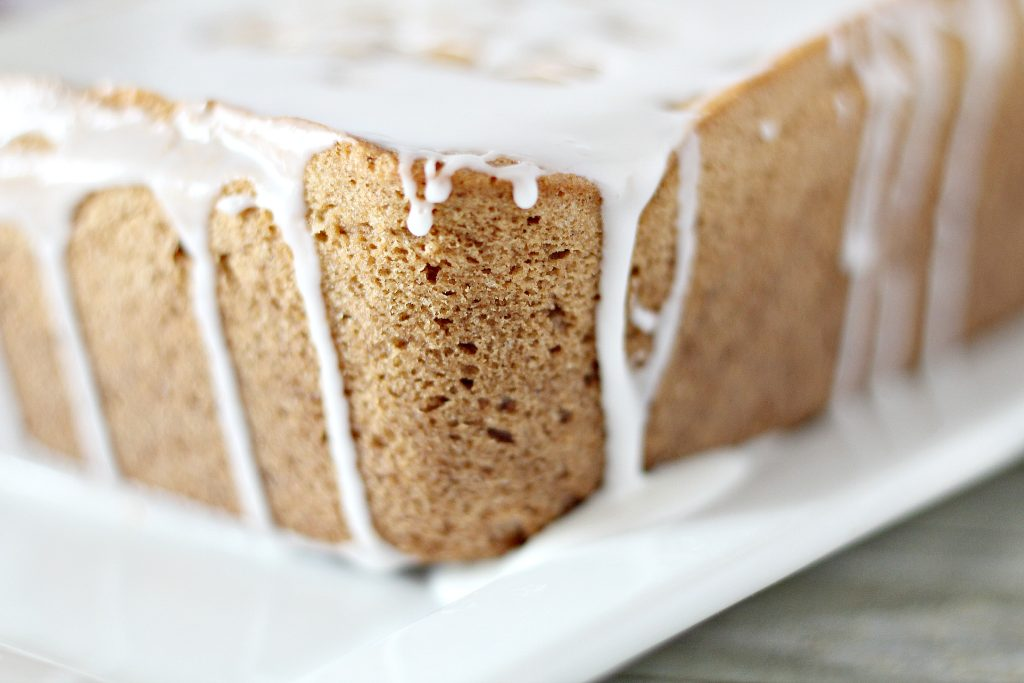 Glazed Ginger Bread Loaf