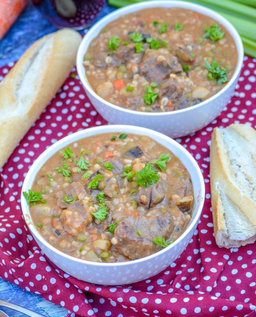 Beef & Barley Stew