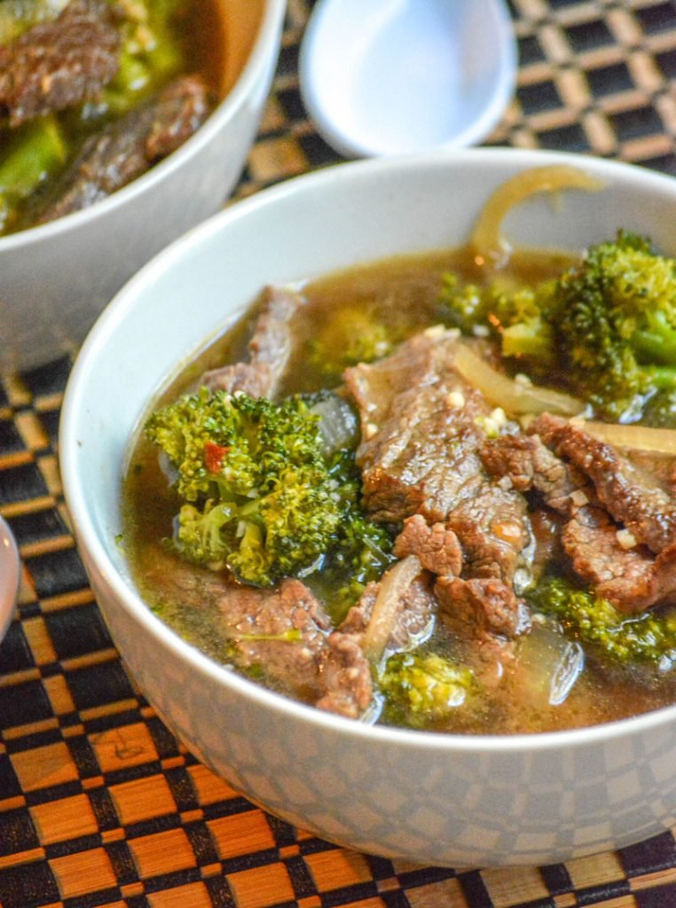 Chinese Beef & Broccoli Soup