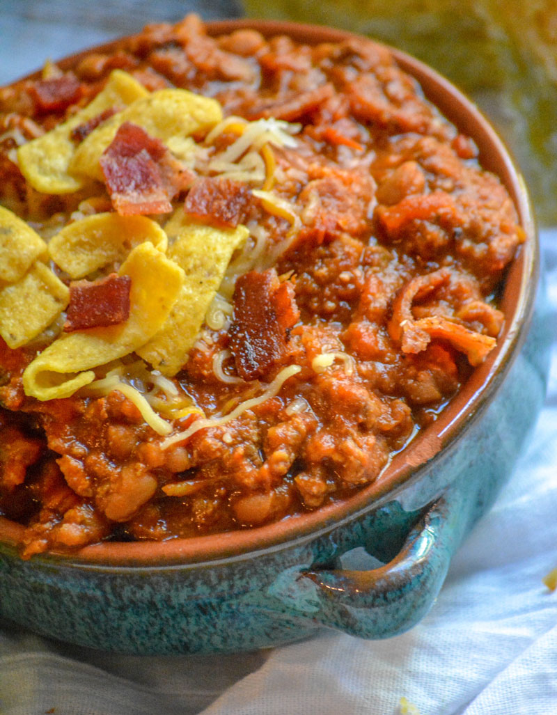 Ground Beef Bacon Baked Bean Chili 4 Sons R Us