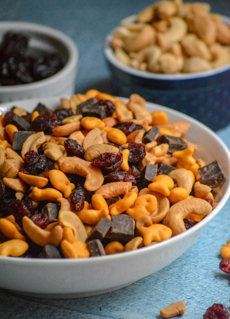 Mom's Fancy Sweet & Salty Trail Mix