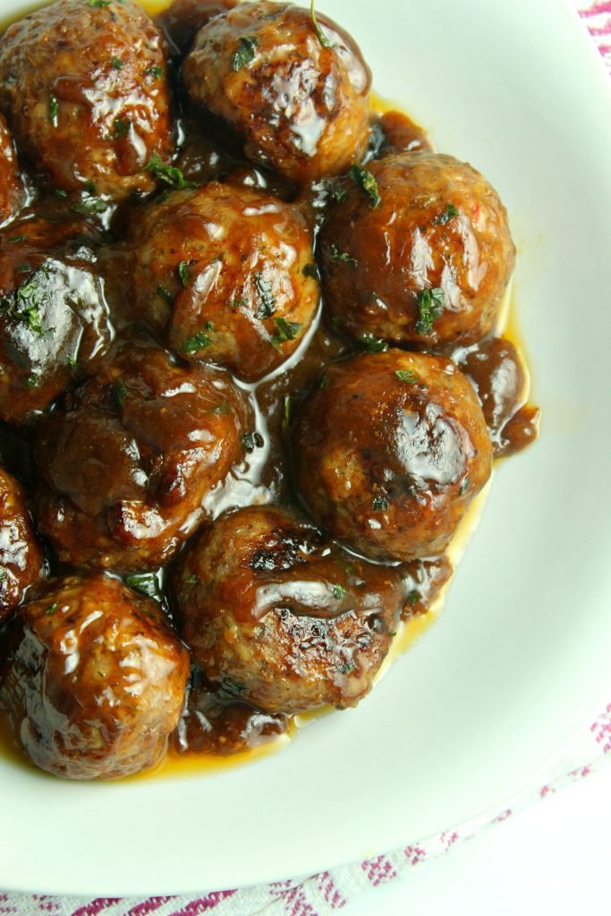 20 Minute Chinese Pork Meatballs