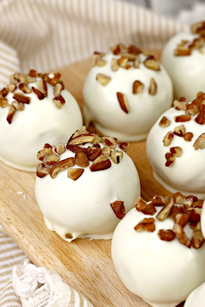 Carrot Cake Ball Truffles
