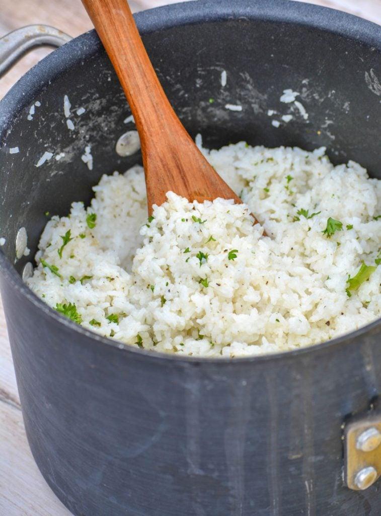 copycat Taziki's Greek lemon rice