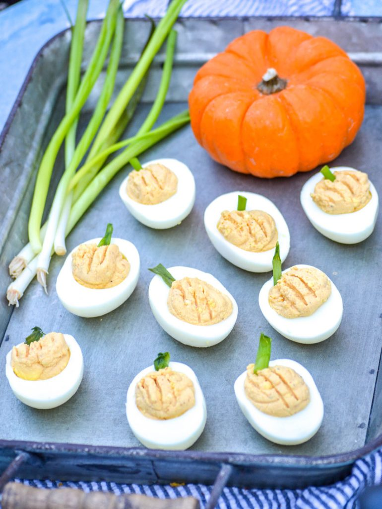 pumpkin deviled eggs, pumpkin recipes