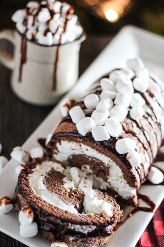 Hot Chocolate Cake Roll 4 Sons R Us