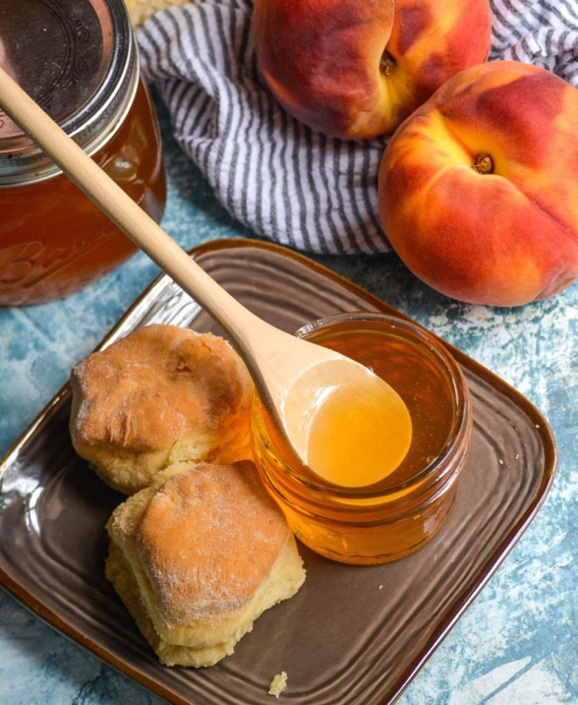Simple Peach Syrup Recipe 4 Sons R Us
