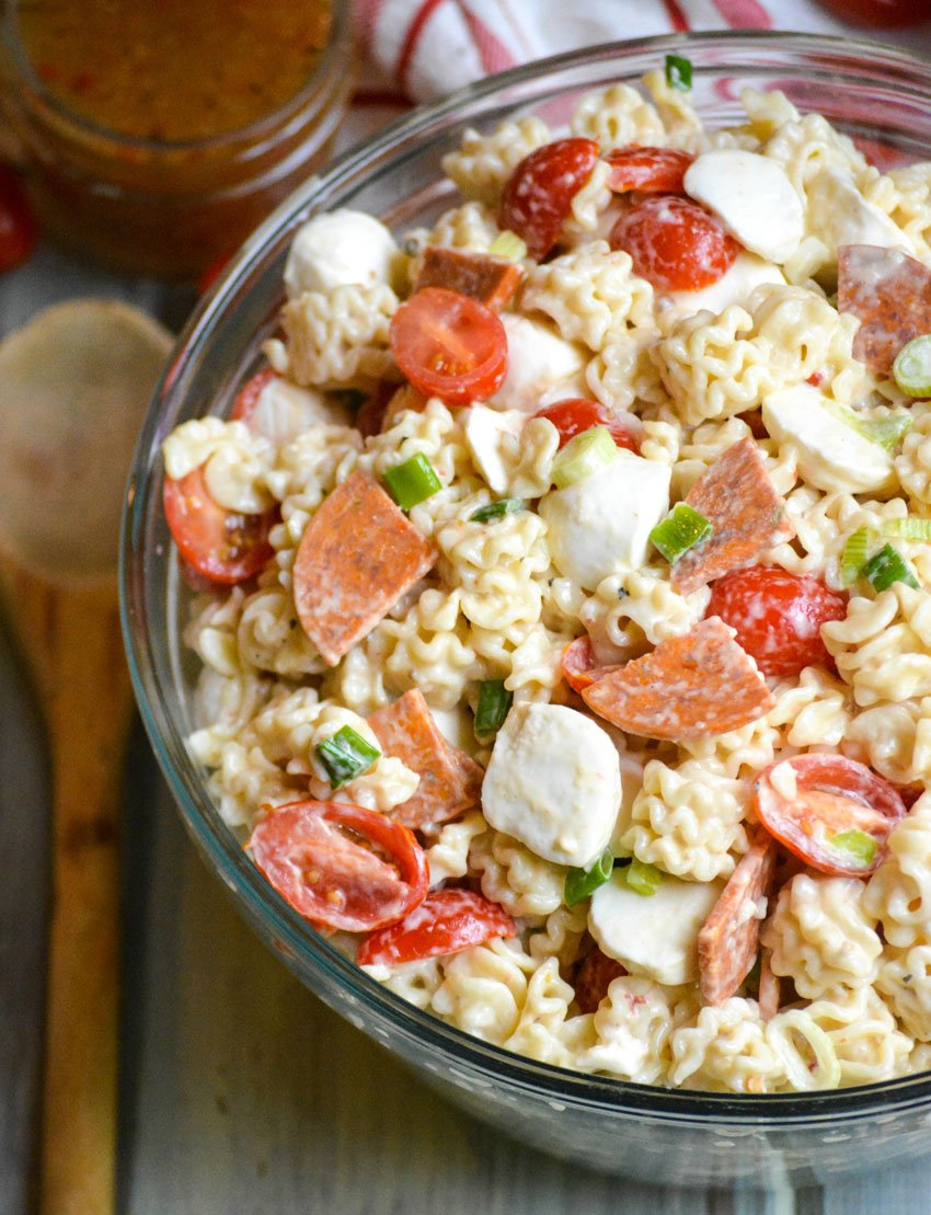 Pasta Salad with Pepperoni from 4 Sons R Us